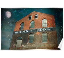 Shooting Stars Over Tredegar Poster