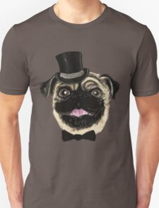 Pug in a top hat T-Shirt
