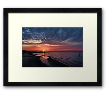 Excellent Reflections Framed Print