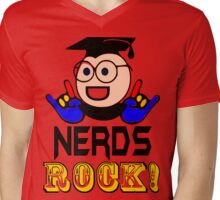 §♥Nerds Rock Must-Have Fun Clothing & Stickers♥§  Mens V-Neck T-Shirt