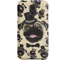 Pug in a top hat Samsung Galaxy Case/Skin