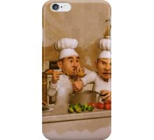 Too Many Cooks Spoil The Broth iPhone Case/Skin