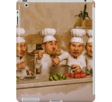 Too Many Cooks Spoil The Broth iPad Case/Skin