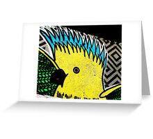Galah - Graffiti - Street Art Greeting Card