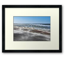 Stormy weather.... 3 Framed Print