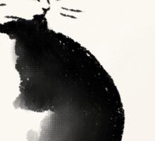Cat sketch Sticker