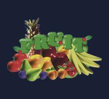 Fruit Salad by Valxart Kids Tee