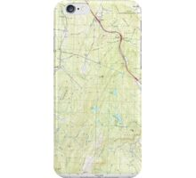 USGS TOPO Map New Hampshire NH North Grantham 329727 1998 24000 iPhone Case/Skin