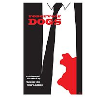 Reservoir Dogs minimalist movie poster Photographic Print