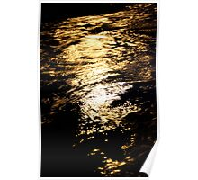 Golden Reflections 1 Poster