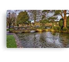 Bourton on the Water Canvas Print