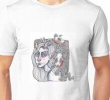 ghost pups Unisex T-Shirt