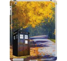 Tardis Autumn iPad Case/Skin