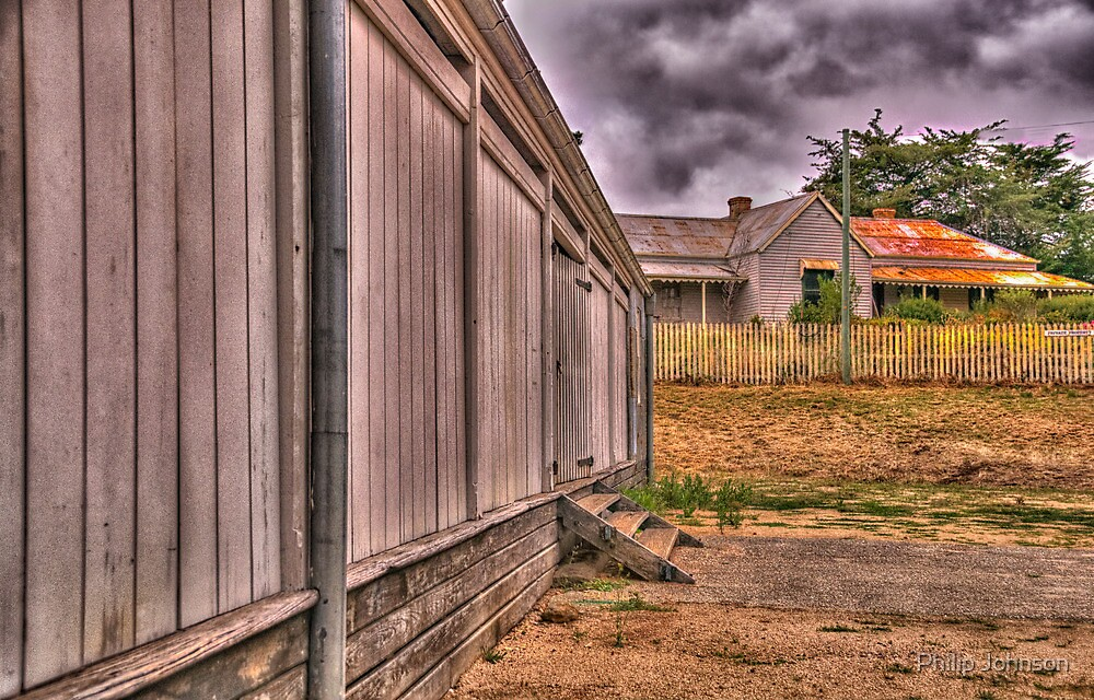 Anderson's Mill c1861 - Smeaton, Victoria - The HDR Experience by Philip Johnson