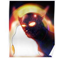 Demonic face dryer! Poster