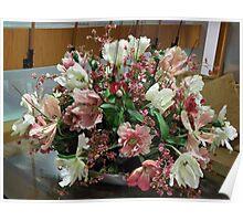 first class flowers Poster