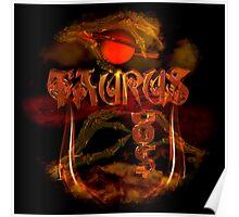 Taurus gothic zodiac by Valxart Poster