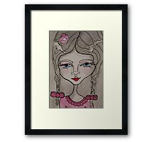 Mia Moon  Framed Print