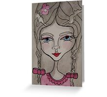 Mia Moon  Greeting Card