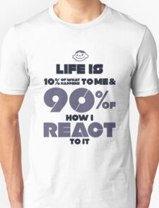 Macho Typographic Quote #2 T-Shirt