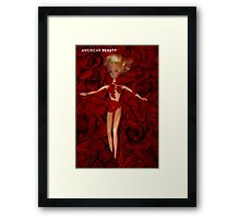 A Plastic World - American Beauty Framed Print