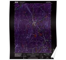 USGS TOPO Map New Hampshire NH Troy 329828 1998 24000 Inverted Poster
