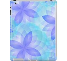 Case abstract lotus flower iPad Case/Skin
