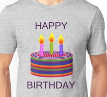 BIRTHDAY CAKE Unisex T-Shirt
