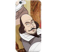 Freud analysing Shakespeare iPhone Case/Skin