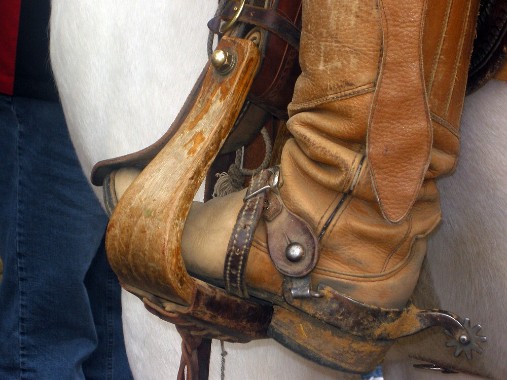 Boots & Spurs Texas Style  by John  Kapusta