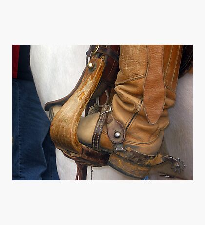 Boots & Spurs Texas Style  Photographic Print