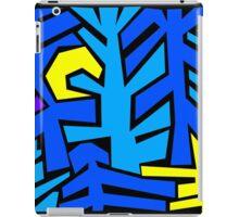 Forest Woodcut #3 - Moonlight iPad Case/Skin