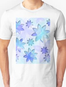 Case abstract lotus flower T-Shirt