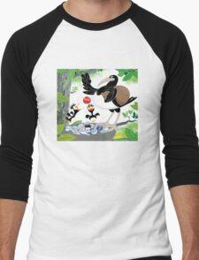 Thieving Magpies Men's Baseball ¾ T-Shirt