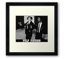 A Plastic World - Pulp Fiction Framed Print