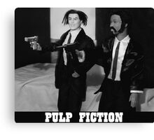 A Plastic World - Pulp Fiction Canvas Print