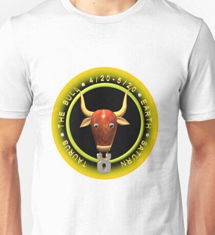 Taurus zodiac astrology  by Valxart Unisex T-Shirt