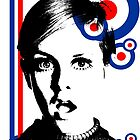 mod girl twiggy by MRK1
