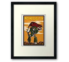 Machine Revolution Framed Print