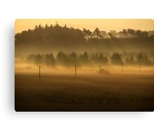 Through the Mists Canvas Print