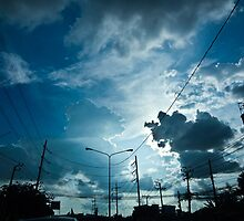 Happiness is...look at the sky sometime...Got 3 Featured Work by Kornrawiee