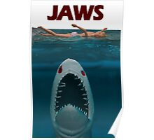 A Plastic World - Jaws Poster