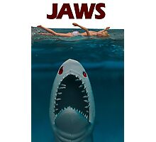 A Plastic World - Jaws Photographic Print