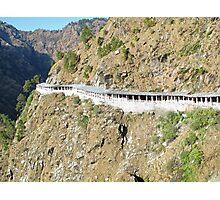 Path Leading to the shrine of Vaishno Devi Photographic Print