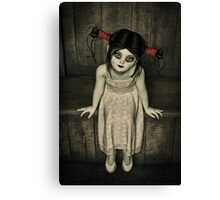 Charlotte - The Gothic Doll Canvas Print
