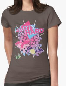 Pinkie Pie & Twilight Sparkle - Party Hard Womens Fitted T-Shirt