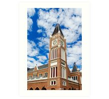 Perth Town Hall Art Print