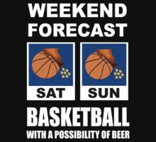Basketball Weekend Forecast by movieshirtguy