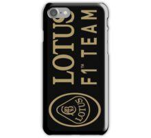 Lotus F1 Team iPhone Case/Skin