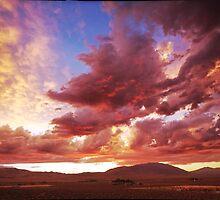 Sunset Drama's by SB  Sullivan